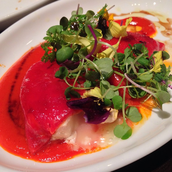 Goat Cheese Stuffed Piquillo Peppers - Jaleo - The Cosmopolitan of Las Vegas, Las Vegas, NV
