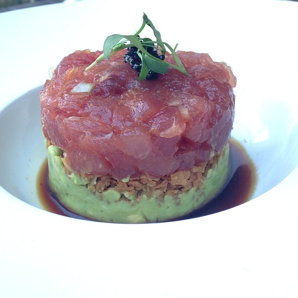 Tuna Tartar - Dallas Chop House, Dallas, TX