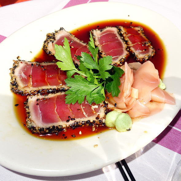 Seared Sesame Crusted Ahi Tuna - Tavern on Rush, Chicago, IL