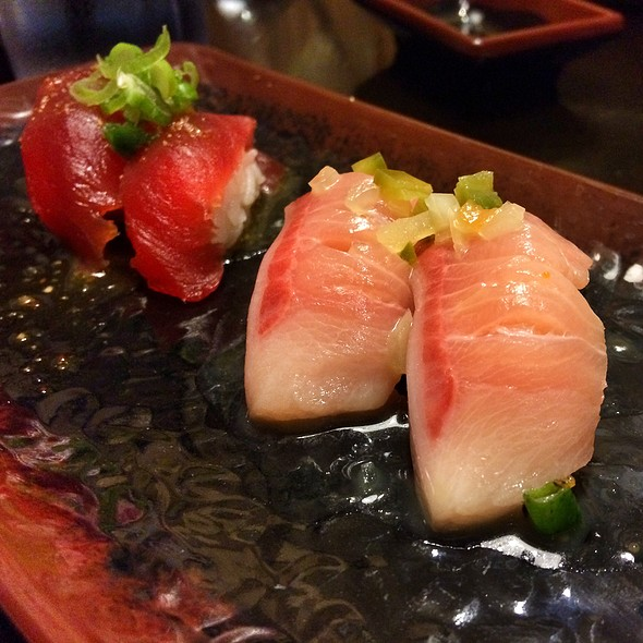 Jjanga japanese restaurant las vegas nv opentable for Yellowtail fish sushi