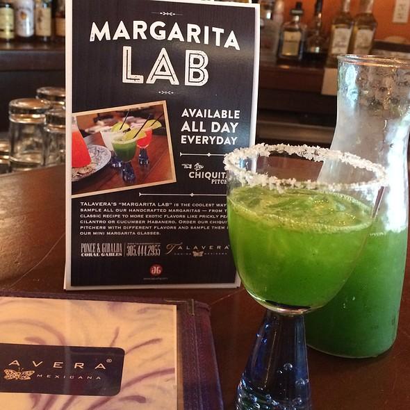 Cilantro Margarita - Talavera Cocina Mexicana, Coral Gables, FL