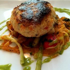 crab cake - Bouquet Restaurant and Wine Bar, Covington, KY