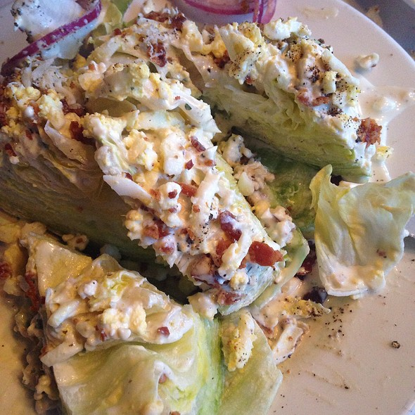 Wedge Salad w/ Blue Cheese - Blue Point Grille, Cleveland, OH