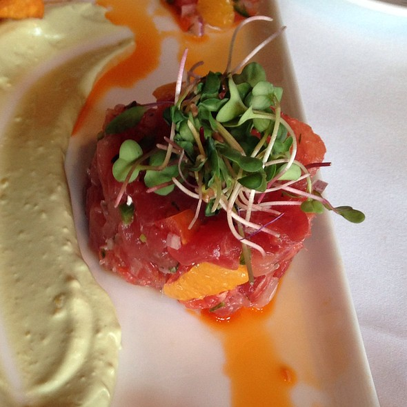 Tuna Tartar - Blue Point Grille, Cleveland, OH