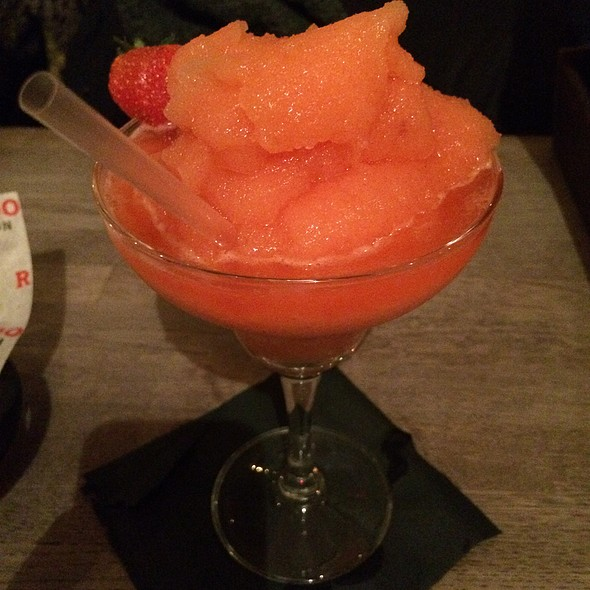 Frozen Strawberry Margarita - Red Dog Saloon Hoxton, London