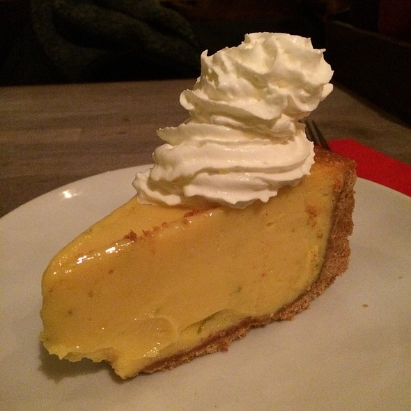 Key Lime Pie - Red Dog Saloon Hoxton, London
