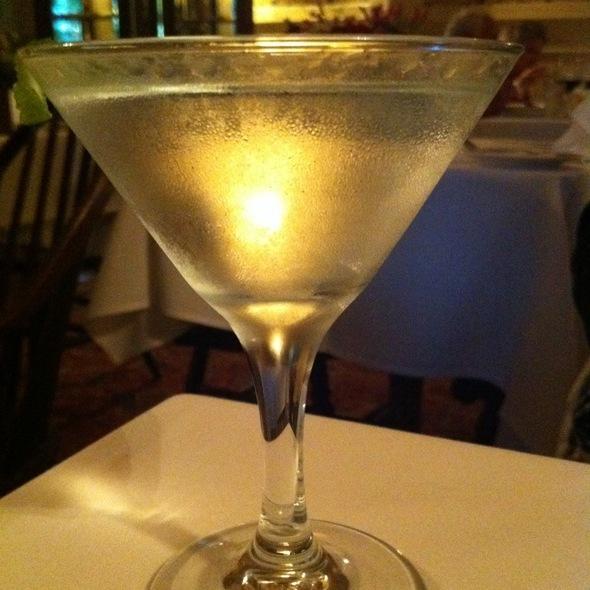 Dry Martini - Elizabeth on 37th, Savannah, GA