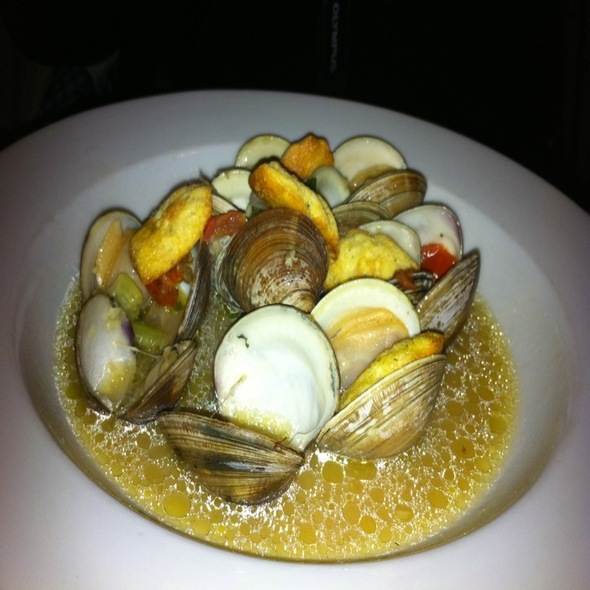 Clams With Truffle Oil - Elizabeth on 37th, Savannah, GA