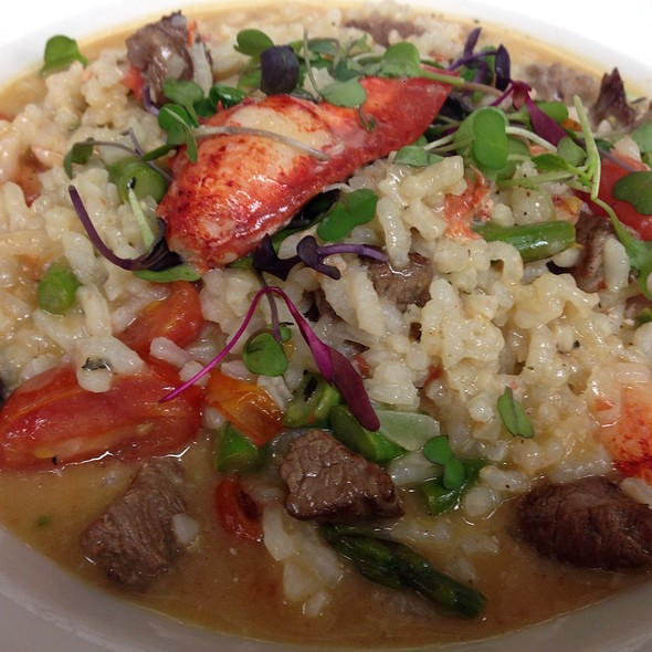Surf And Turf Risotto - Ferraro's, Westfield, NJ