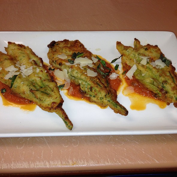 Stuffed Zucchini Blossoms - Ferraro's, Westfield, NJ