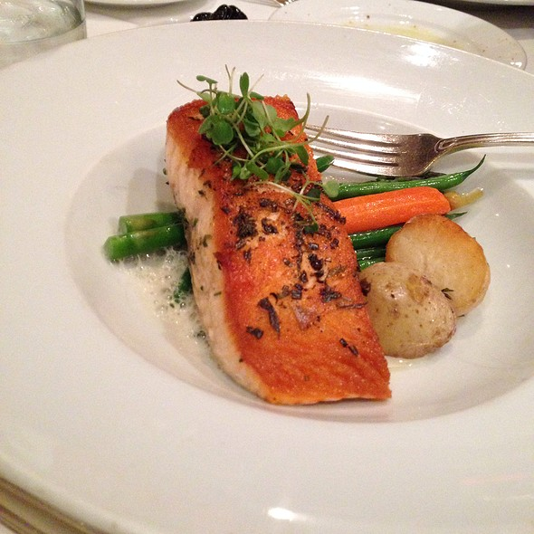 Pan Seared Salmon  - Adega Restaurante, Toronto, ON