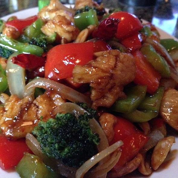 Kung Pao Chicken - Monsoon Café, Santa Monica, CA