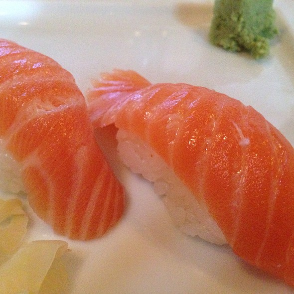 Salmon - Monsoon Café, Santa Monica, CA