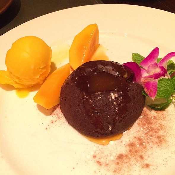 Chocolate Coulant - Patara - Oxford Circus, London