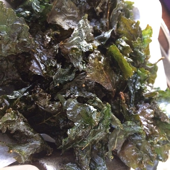 Kale Chips - Post & Beam, Los Angeles, CA