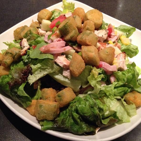 Fried Okra Salad - New South Kitchen & Bar, Charlotte, NC