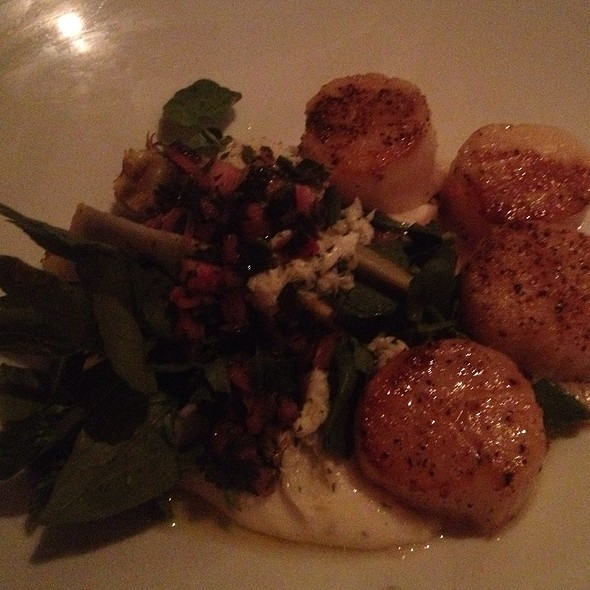 Scallops - Lucca North End, Boston, MA