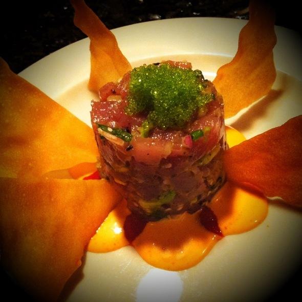 Ahi Tuna Tartare - Geoffrey's Restaurant, Malibu, CA