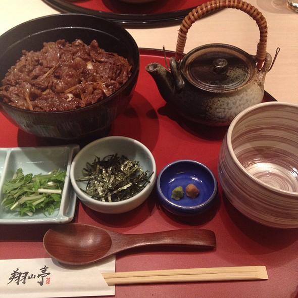 Wagyu Beef Hitsumabushi - 翔山亭 淡路町店, 千代田区, 東京都