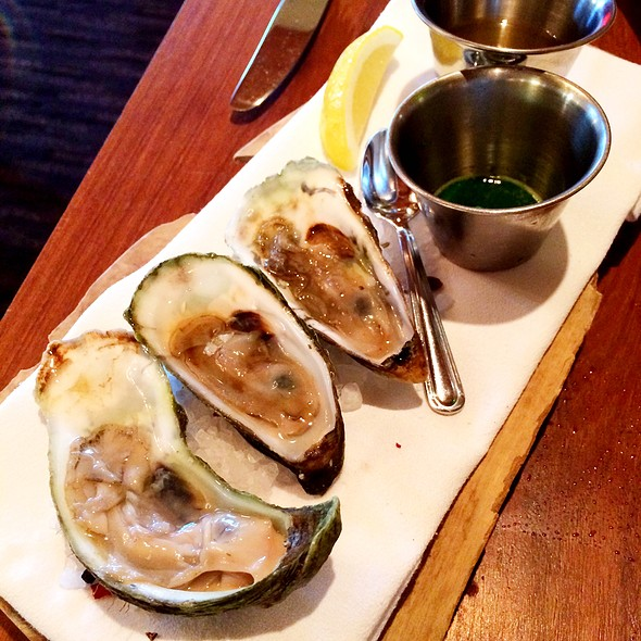 Oysters on the Half Shell - Brix, Napa, CA