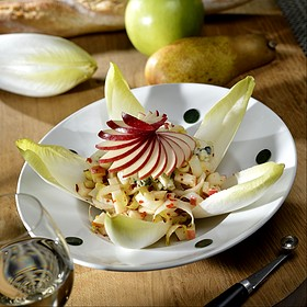 Endive Salad with Walnuts and Blue Cheese - Rouge, Miami Beach, FL
