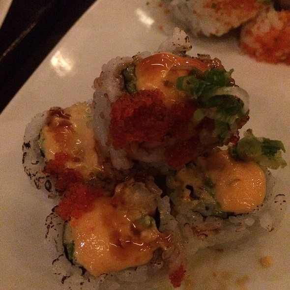 Volcano Roll - Basho Japanese Brasserie, Boston, MA