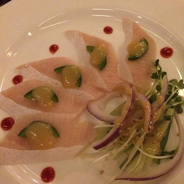 Hamachi Sashimi - Basho Japanese Brasserie, Boston, MA