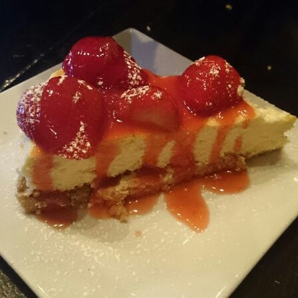 Strawberry Cheesecake - Marmont Steakhouse, Philadelphia, PA