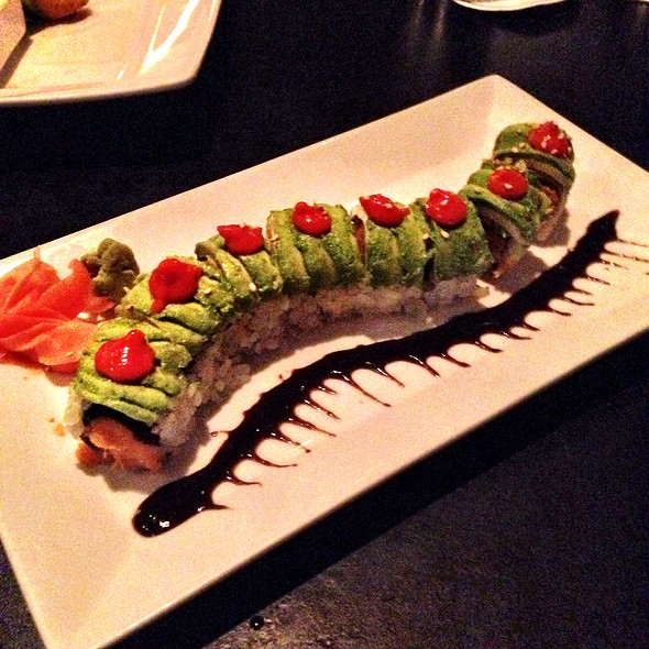 Sweet Potato Caterpillar Roll - Sunda, Chicago, IL