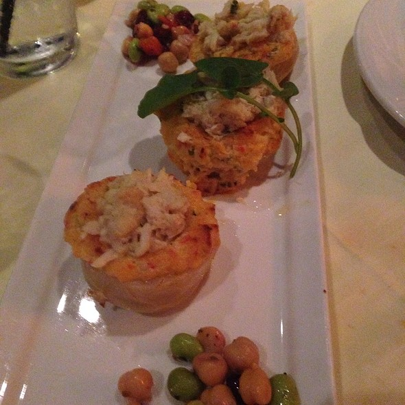 Crab Stuffed Artichoke Bottoms - Mystic Fish, Palm Harbor, FL