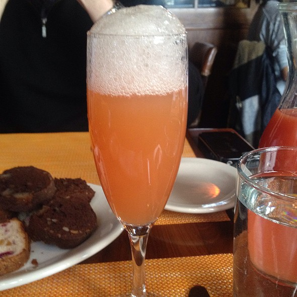 Blood Orange Mimosa - Harry's Cafe and Steak, New York, NY