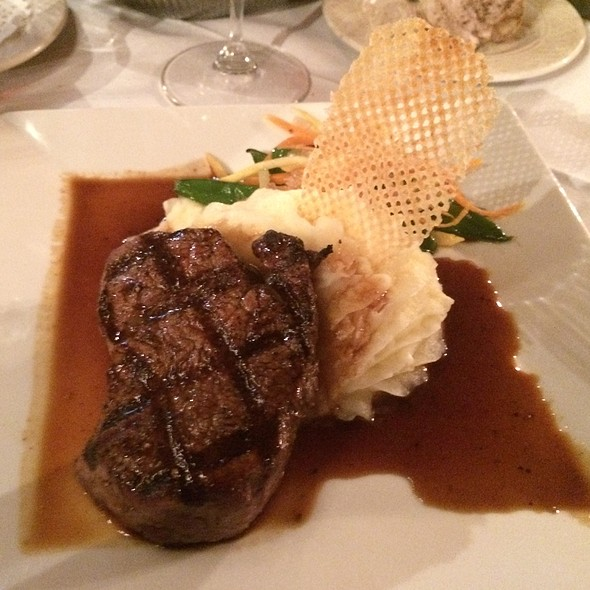 Beef Tenderloin With Cabernet Demi-Glaze - Collage Restaurant, St. Augustine, FL