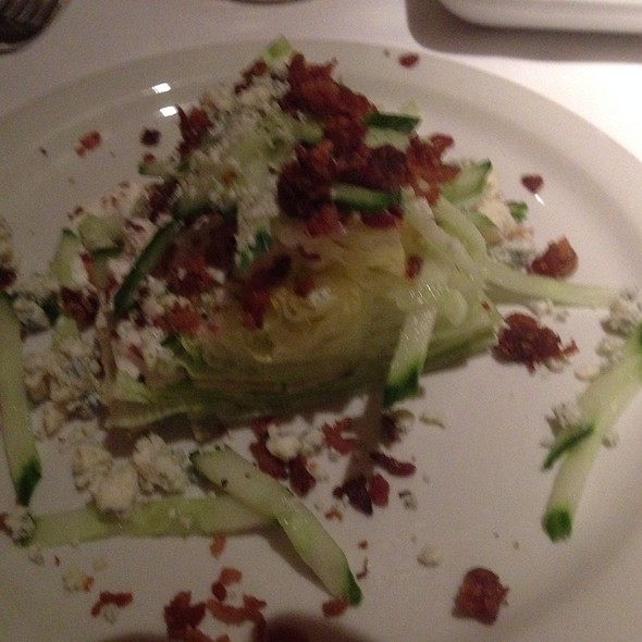 Wedge Salad - Pete Miller's Seafood and Prime Steak - Evanston, Evanston, IL