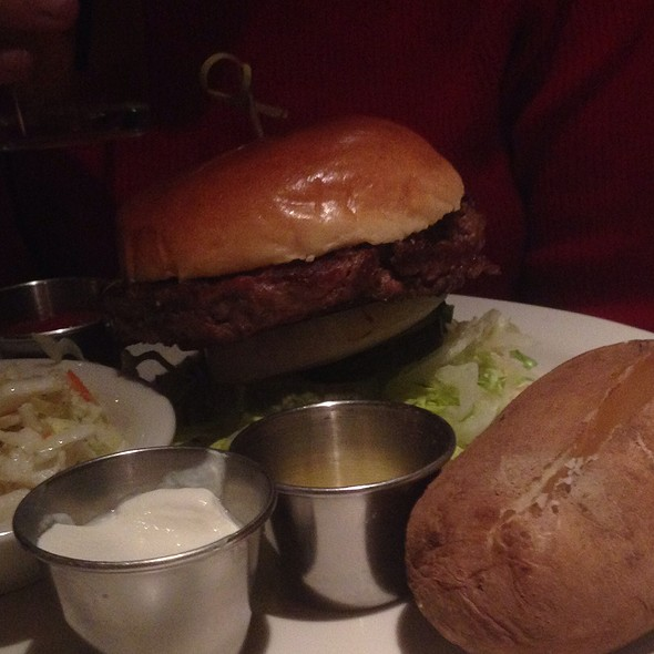 Juicy Lucy Burger - Pete Miller's Seafood and Prime Steak - Evanston, Evanston, IL