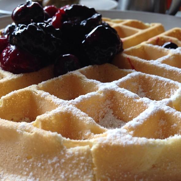 Belgian Waffle - Q Kitchen|Bar - Hyatt Regency, San Antonio, TX