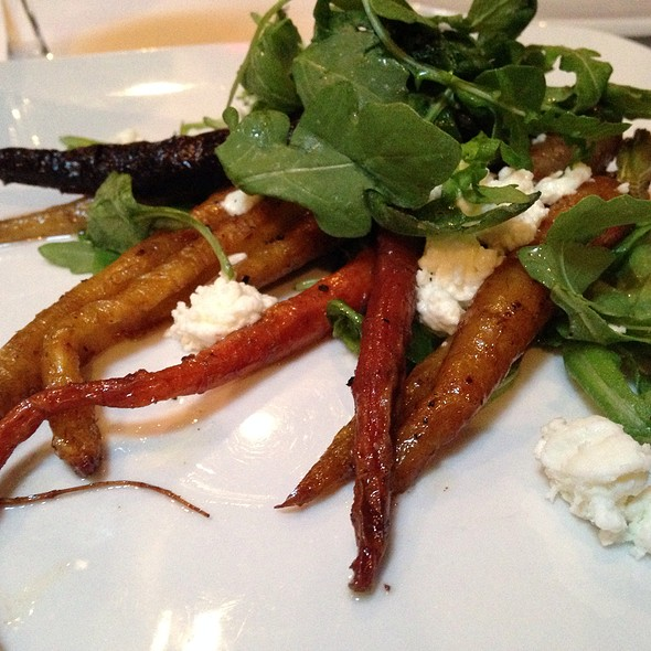 Roasted Carrots With Goat Cheese - Frog Hollow Tavern, Augusta, GA