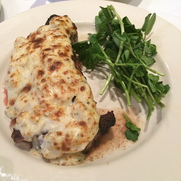 Steak With Gorgonzola - Bobby Van's Grill Times Square, New York, NY