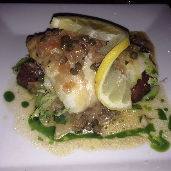 Crab Stuffed Flounder - Ponty Bistro, New York, NY