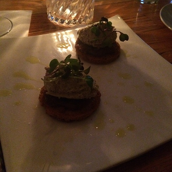 Foie Gras Mousse - Fluke Wine Bar and Kitchen, Newport, RI