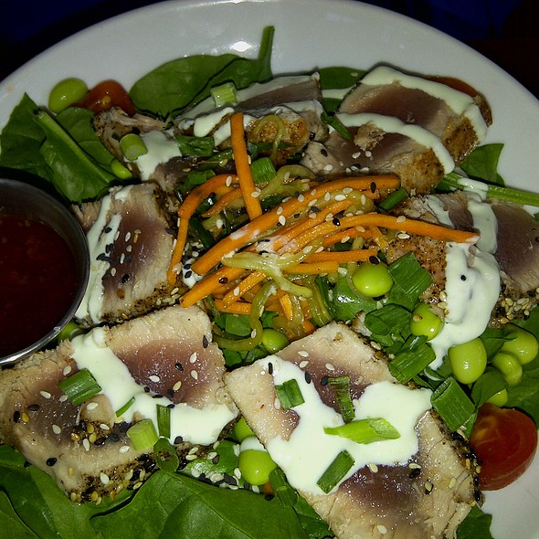 Mandarin Tuna Salad with Spinach - Terra Terroir, Atlanta, GA