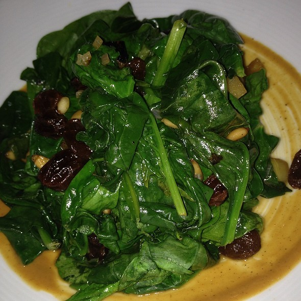 Sautéed Catalan Spinach - The Bazaar by José Andrés South Beach, Miami Beach, FL