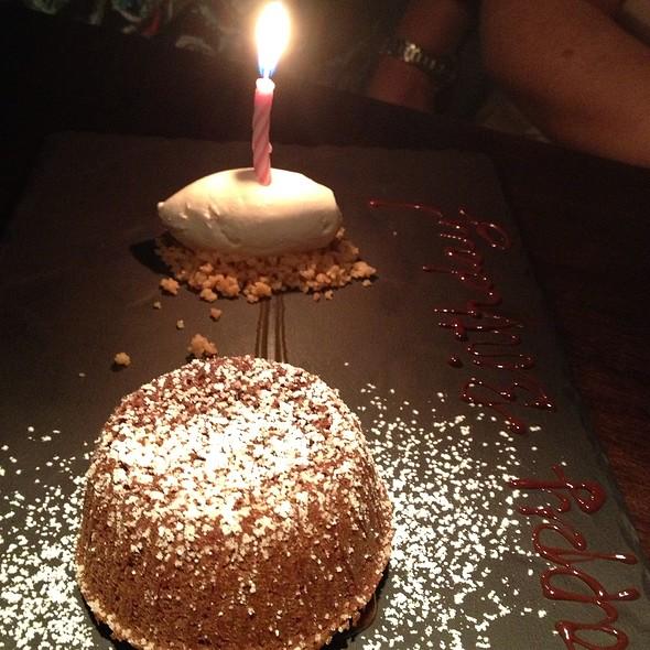 Lava Cake - Hakkasan - Fontainebleau Miami Beach, Miami Beach, FL