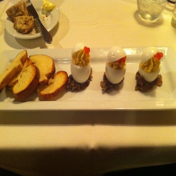 """Deviled"" Eggs - Firestone's, Frederick, MD"