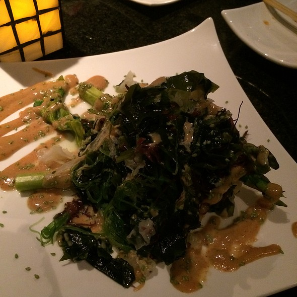 Seaweed salad - Mikado Japanese Teppan Yaki - Marriott Cancun Resort, Cancún, ROO