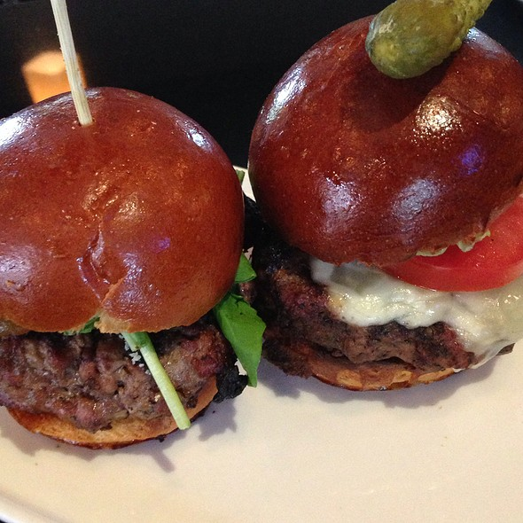Sliders - Nick & Stef's Steakhouse - Los Angeles, Los Angeles, CA