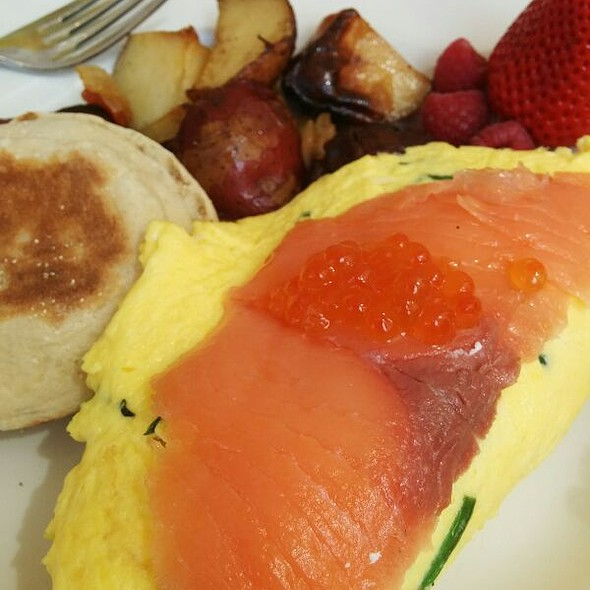 Smoked Salmon Omelette - 44 1/2 Hell's Kitchen, New York, NY