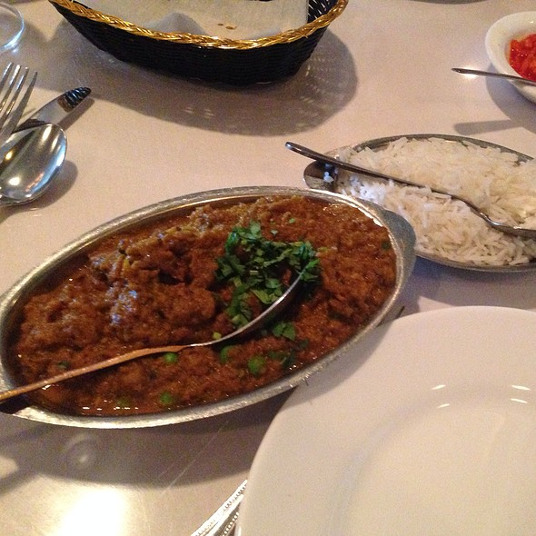 baingan bartha - Shalimar Indian Restaurant, Louisville, KY