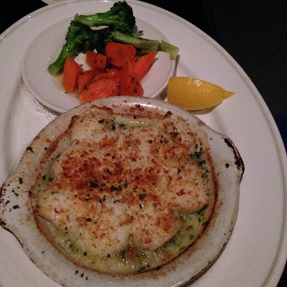 Baked Stonington Sea Scallops - Go Fish Restaurant, Mystic, CT