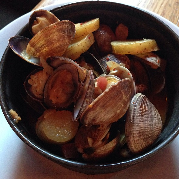 Manilla Clams - Solera Restaurant & Wine Bar, Denver, CO