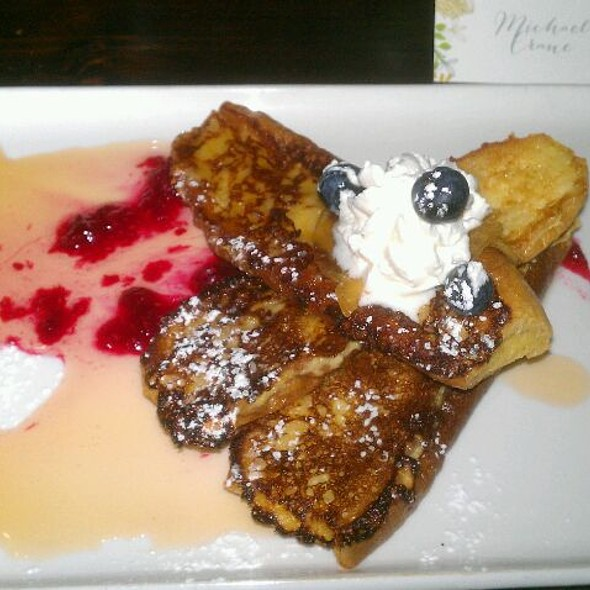 brioche french toast - Boehmer, Toronto, ON
